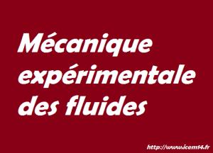 mecanique expérimentale
